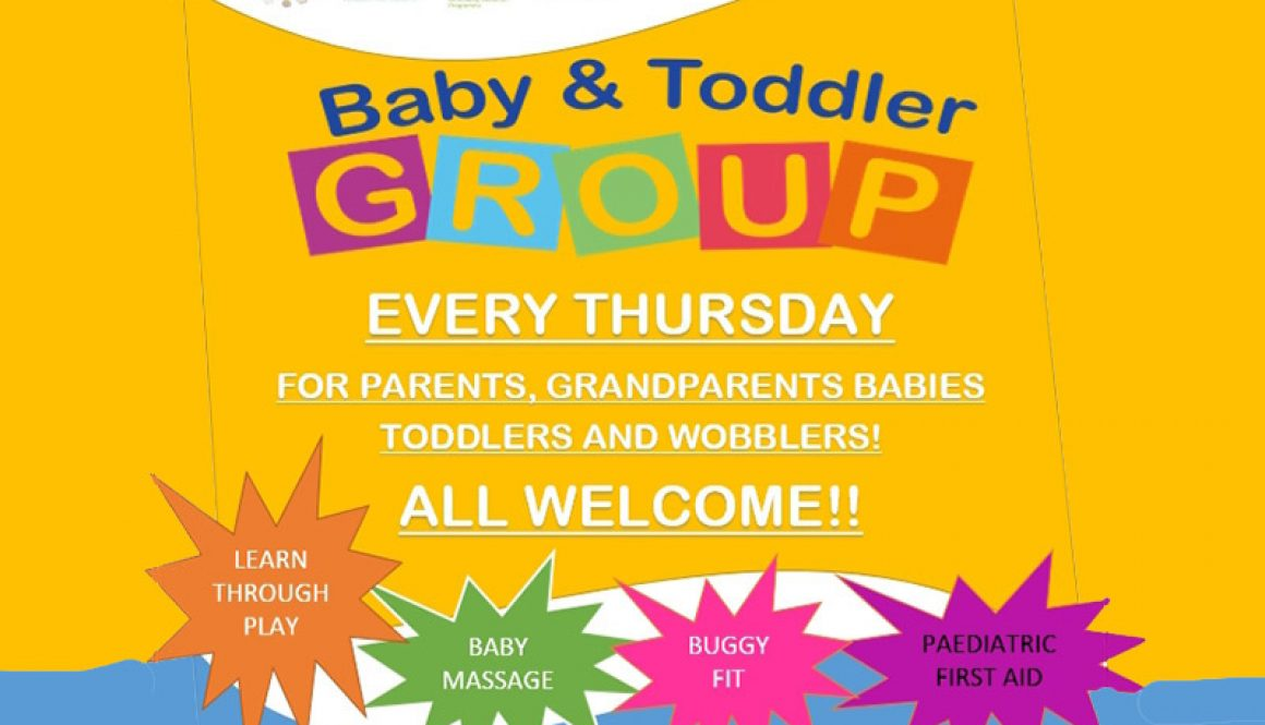 Baby and Toddler Group Thursdays